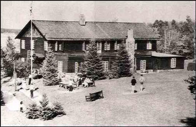 Pehrson Lodge Resort historic postcard.