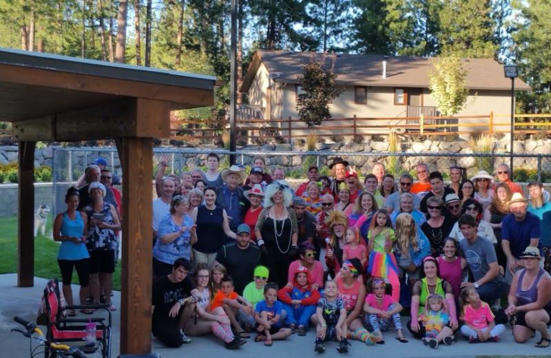 Reunions at Powers Creek Retreat.