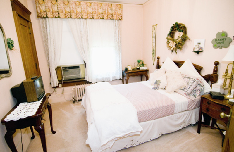 Guest room at Butler House Bed & Breakfast.