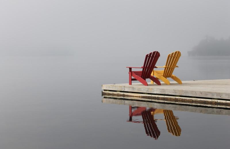 Lake at Severn Lodge.
