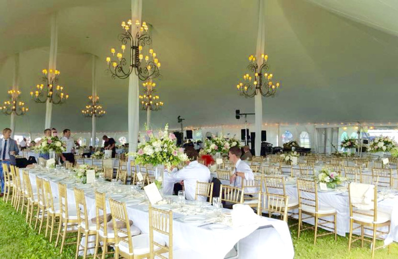 Wedding reception at Bonnie Castle Resort.