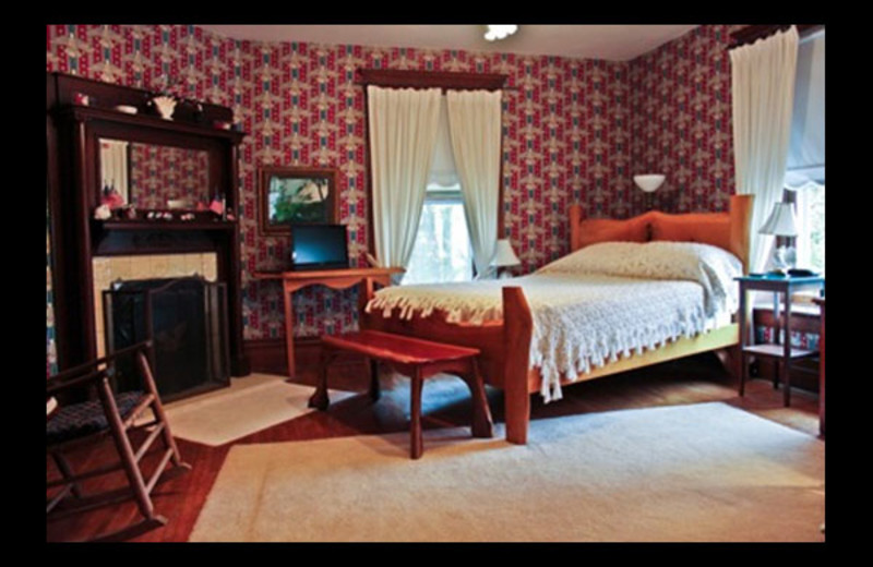 Guest room at Church Street Bed and Breakfast.