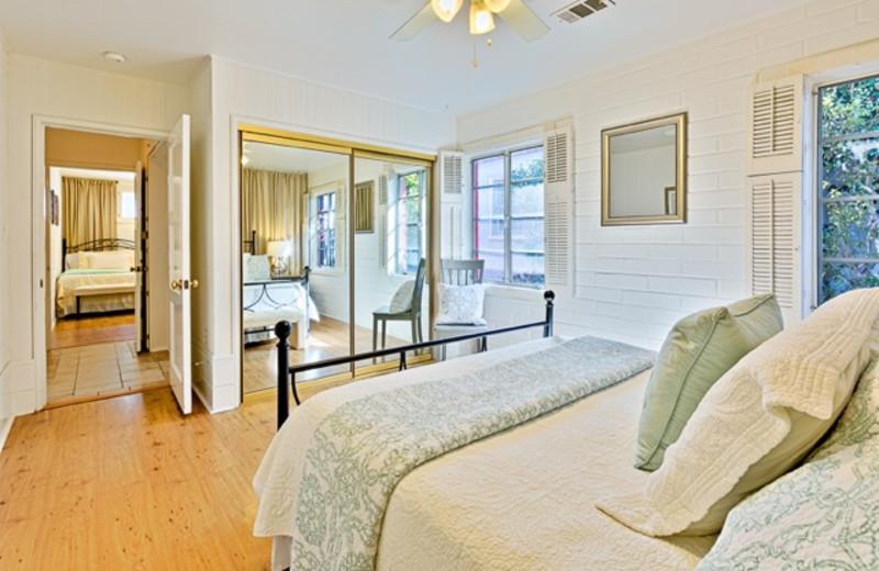 Rental bedroom at Seabreeze Vacation Rentals, LLC-Orange County.