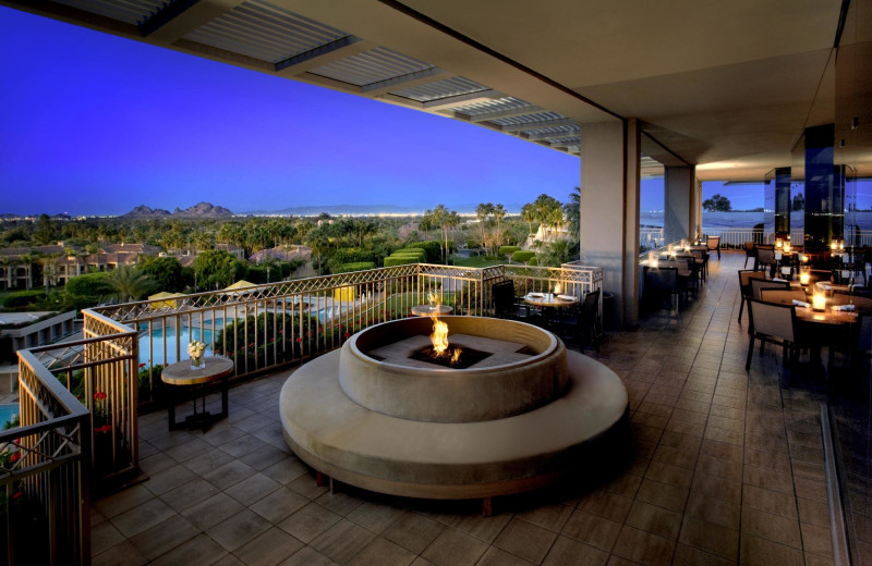 Patio at Phoenician.