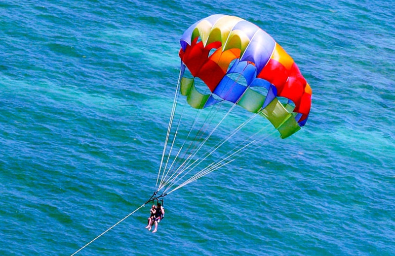 Parasailing at Crowne Plaza Key West La Concha.