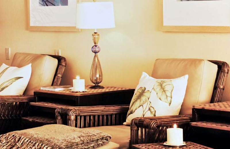 Spa lounge at Loews Coronado Bay Resort.