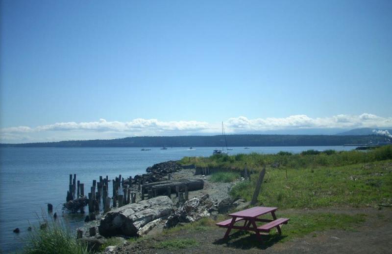 Coastline at Tides Inn.