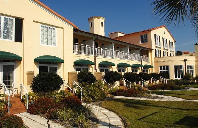 Cabana rooms at The King and Prince Beach Resort.