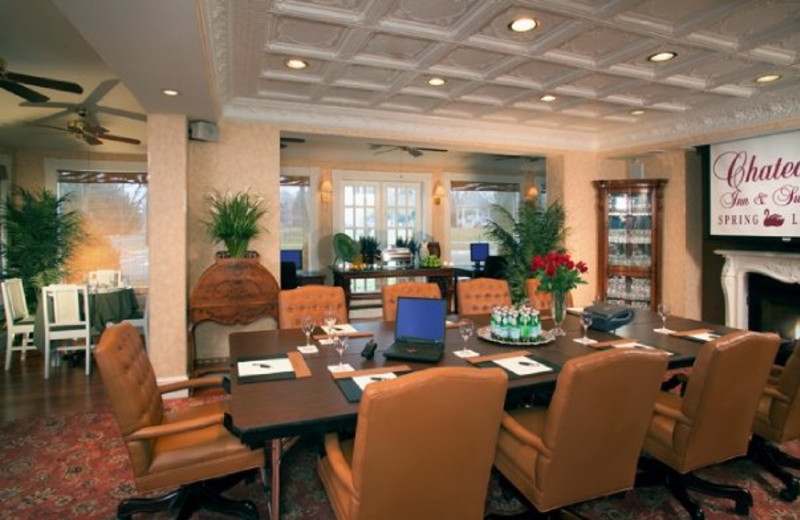 Brighton Conference Room with panoramic views at The Chateau Inn & Suites.