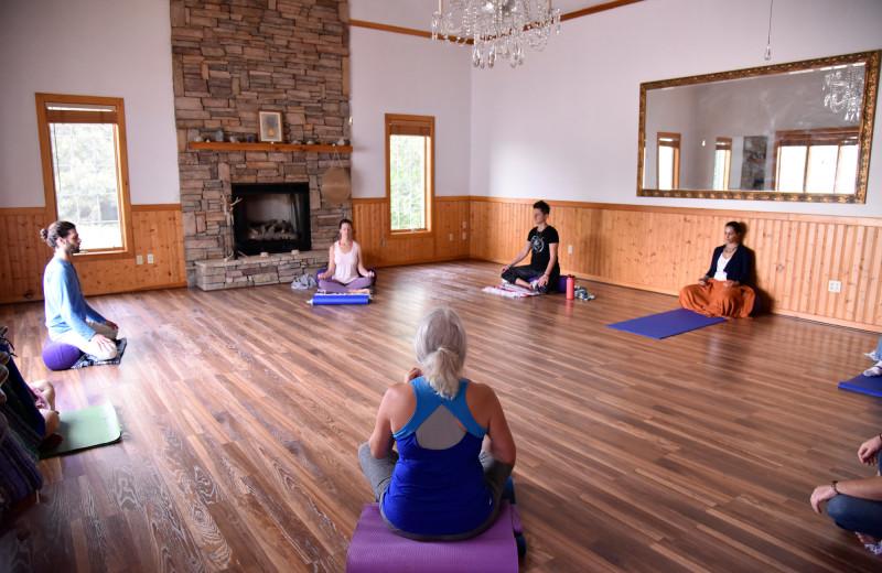 The Sanctuary (Yoga & Meditation Studio) at The Horse Shoe Farm