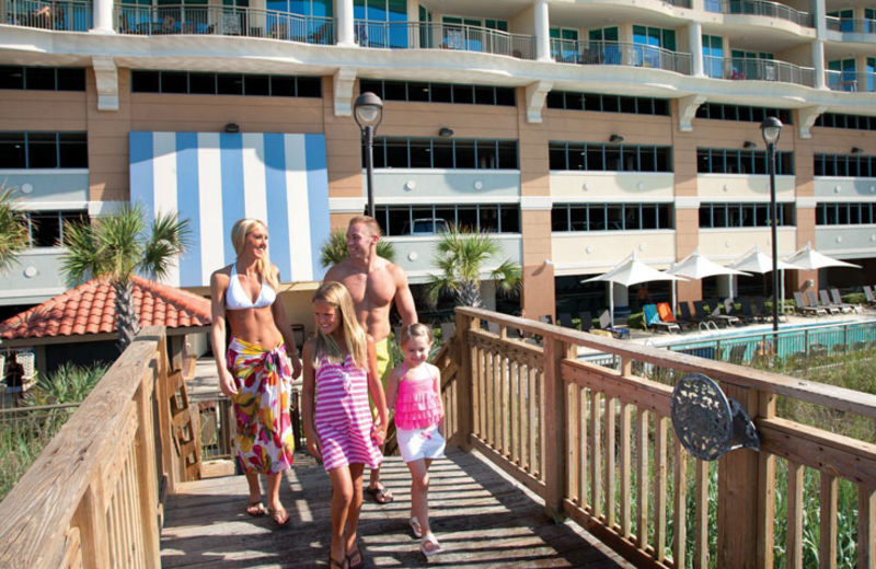 Beach front property at Mar Vista Resort Grande.