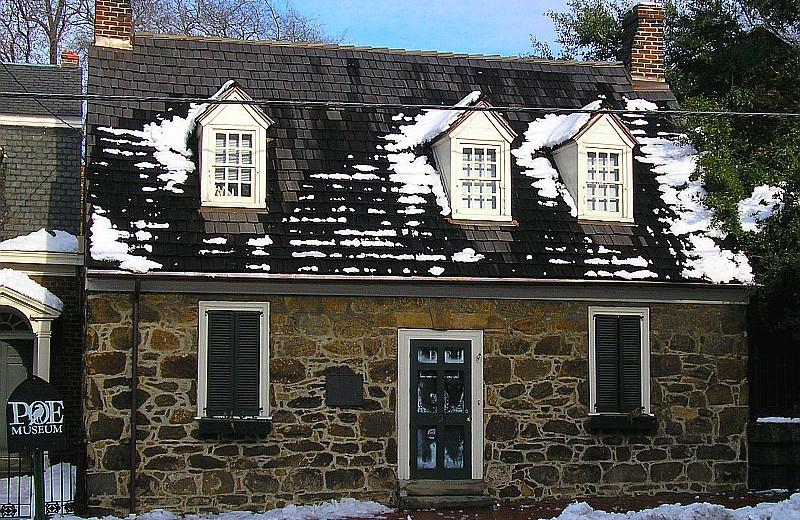 Birthplace of Edgar Allen Poe near Grace Manor Inn.