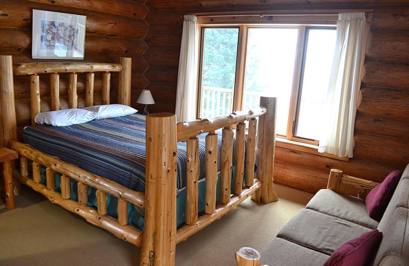 Rental bedroom at Northwoods Property Management.