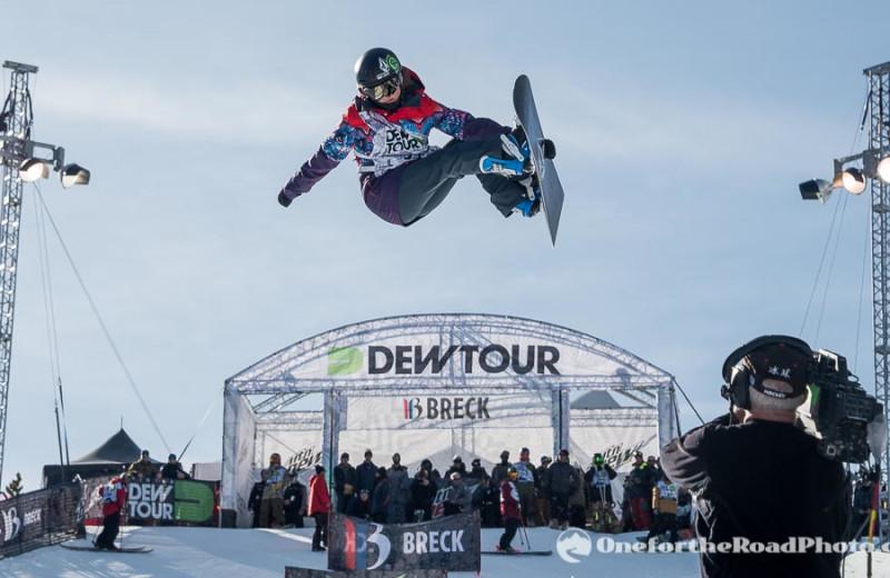 Ski jump at Summit Vacations.