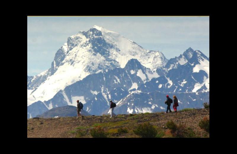Mountain at The Lodge at Chilko Lake.