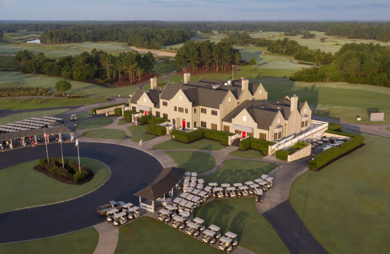 Exterior view of Legends Golf Resort.