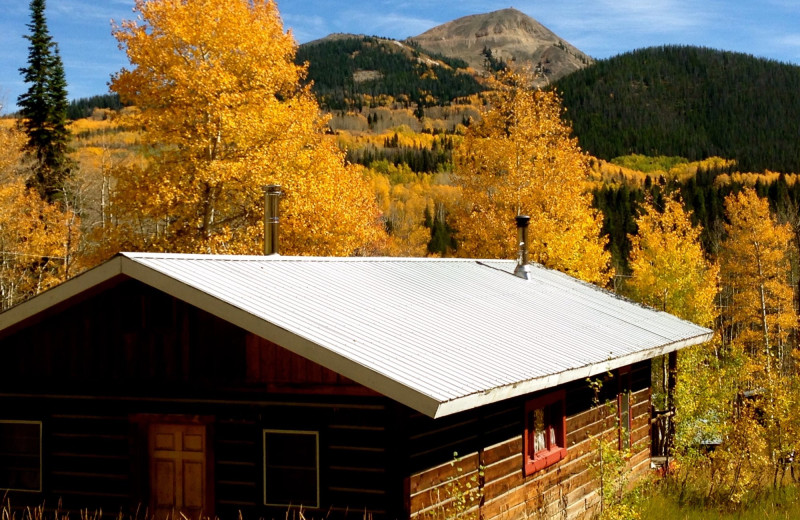 View from The Cabins at Historic Columbine.