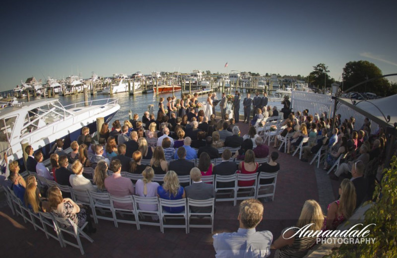 Wedding at Saybrook Point Inn & Spa.