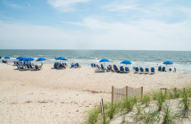 Beach at Bald Head Island Limited.