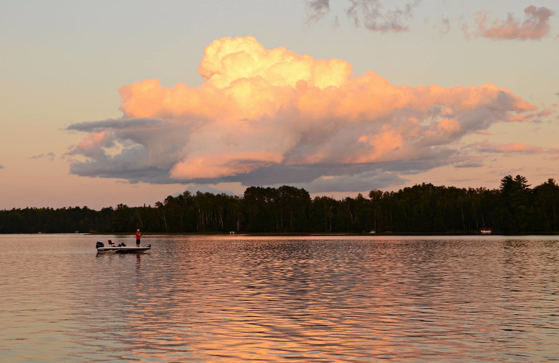 Lake at Idle Hours Resort.