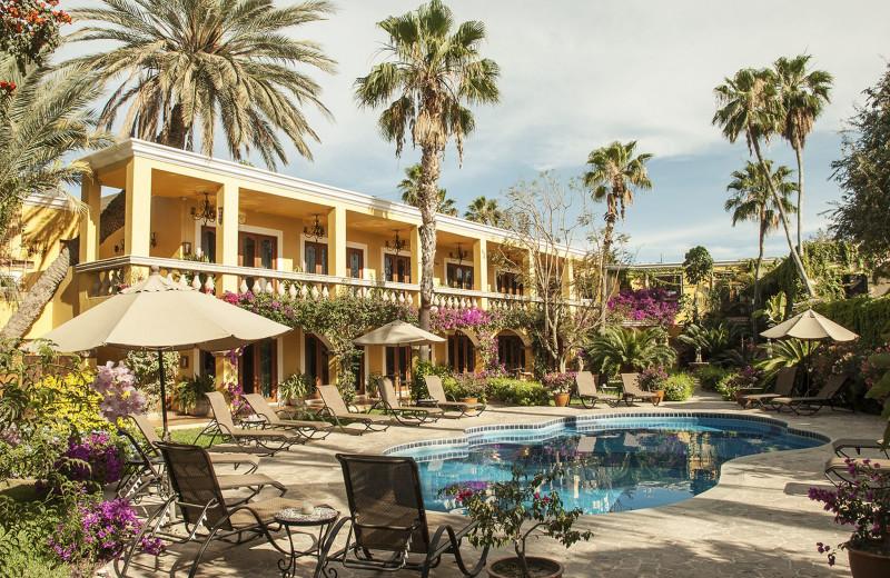 Exterior view of Encanto Inn Hotel & Suites.