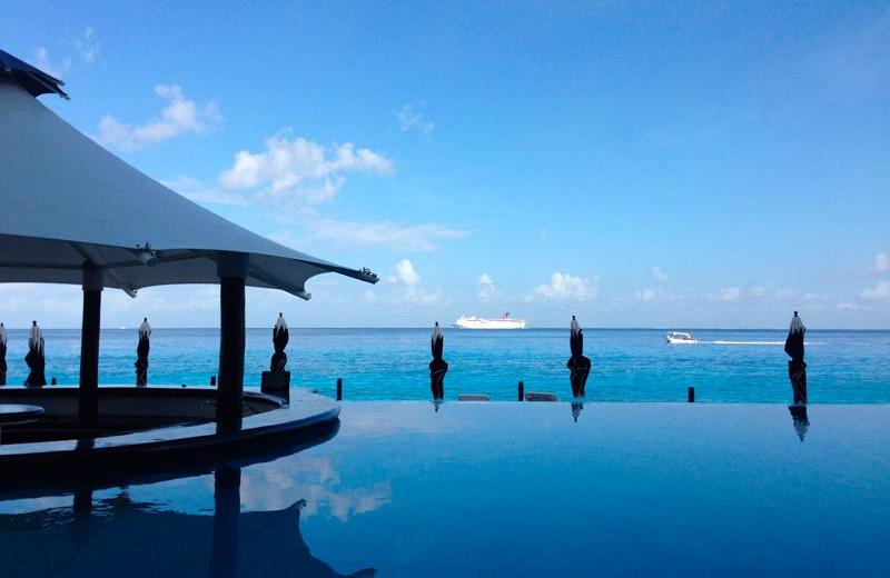 Outdoor pool at Coral Princess Hotel & Resort.