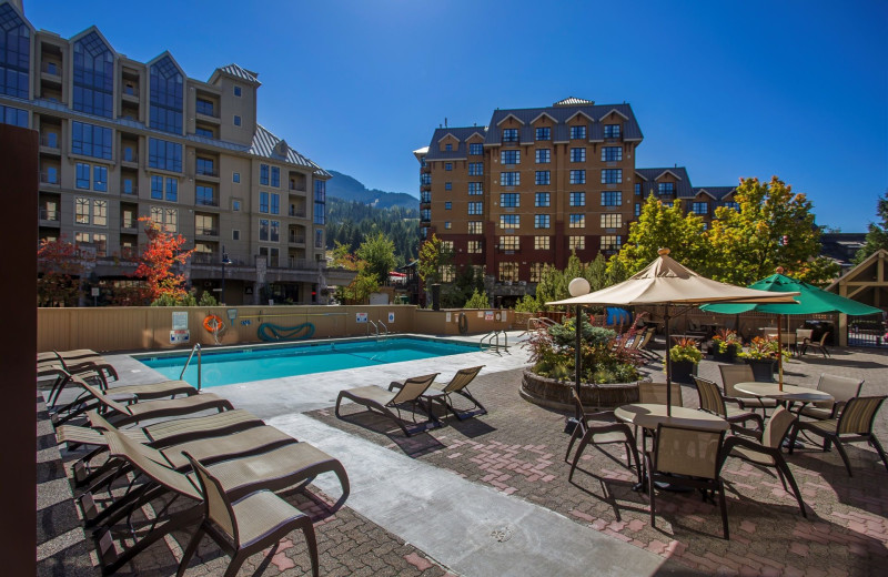 Outdoor pool at Sundial Boutique Hotel.