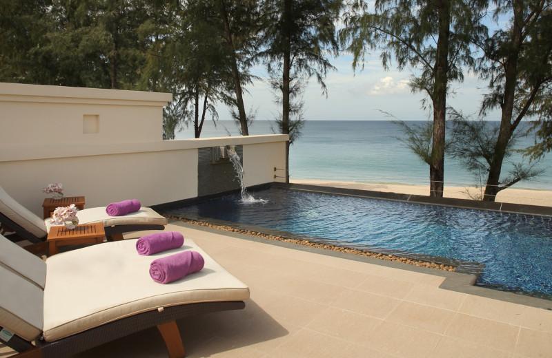 Private pool at Dusit Laguna Resort.