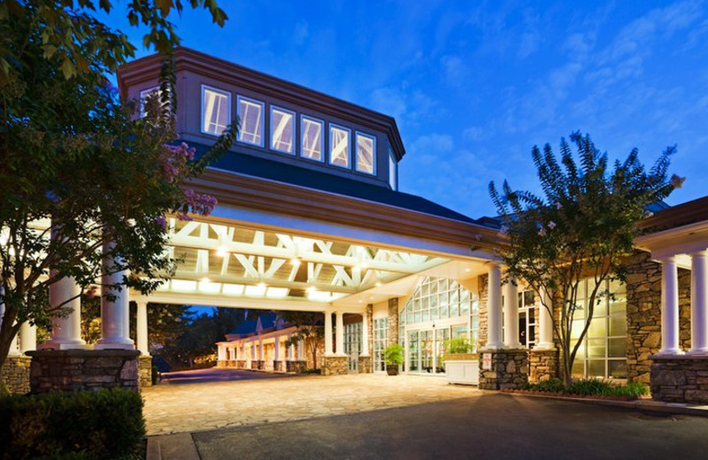 Welcome to the Crowne Plaza Resort Asheville