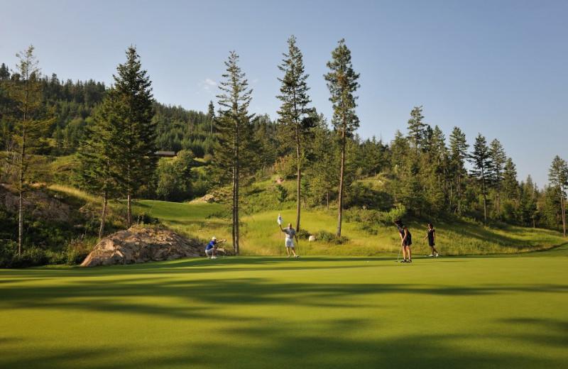 Golf course at Predator Ridge Resort.
