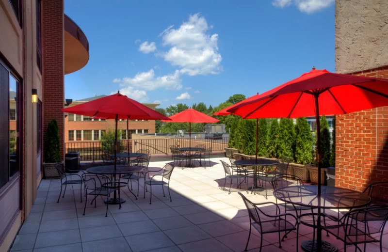 Patio Dining at The Hotel Warner