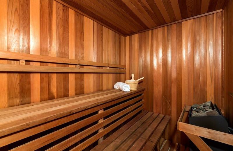 Sauna at Bluewater Vacation Homes
