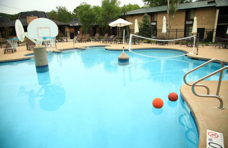 Outdoor pool at Devils Head Resort & Convention Center.