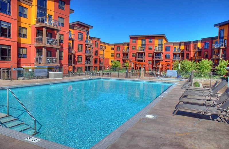 Outdoor pool at Playa Del Sol Resort.
