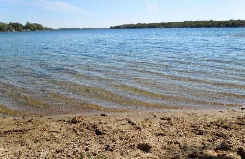 Lake view at Bay View Resort.