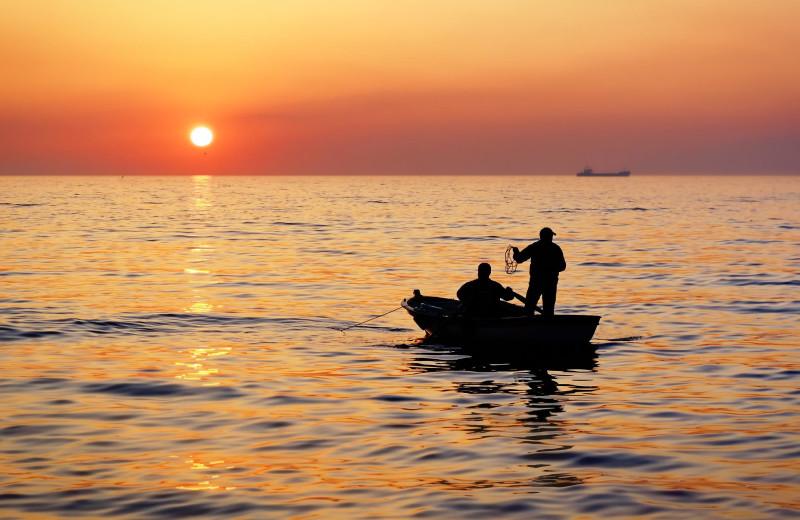 Fishing at Green Turtle Bay Resort & Marina.
