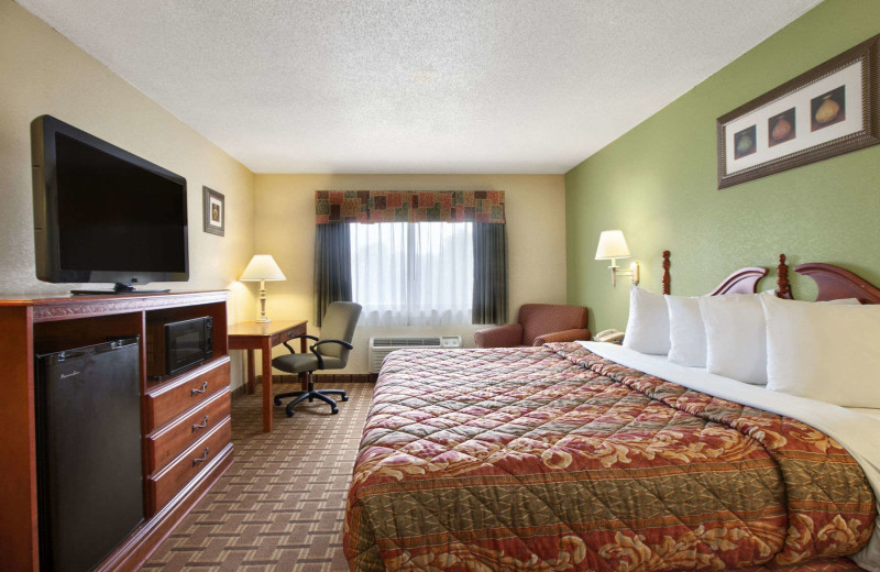 Guest room at Days Inn & Suites - Benton Harbor.