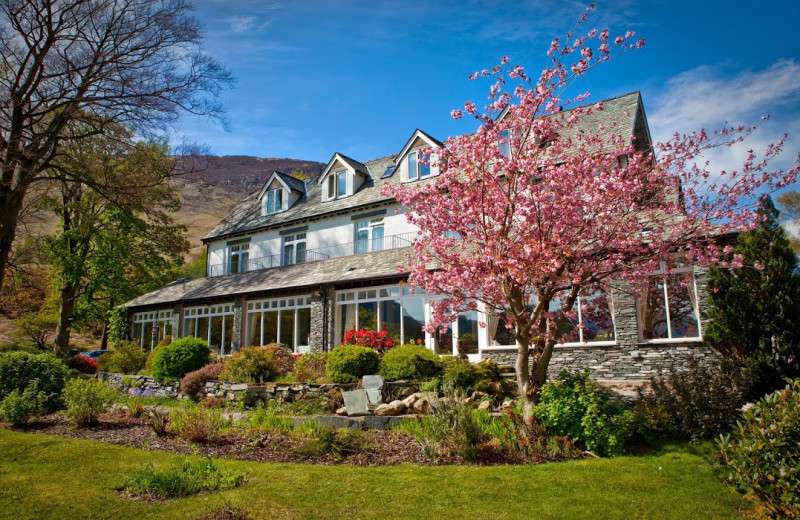 Exterior view of Borrowdale Gates Country House Hotel.