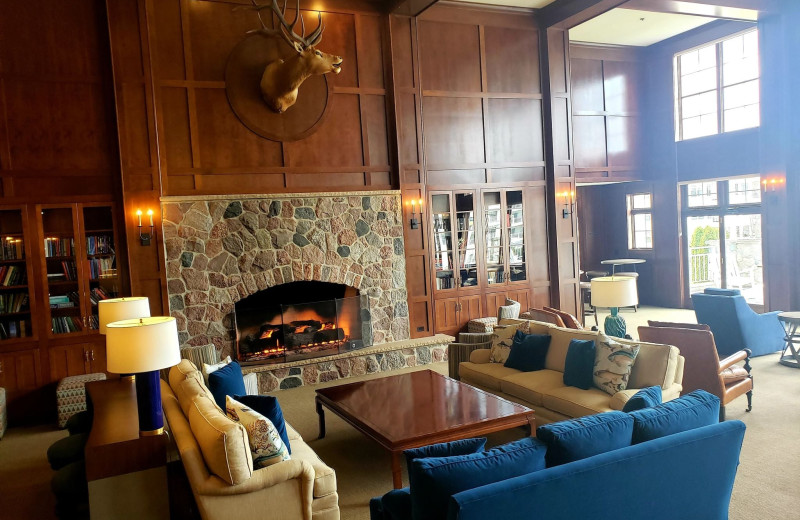 Lounge at The Osthoff Resort.