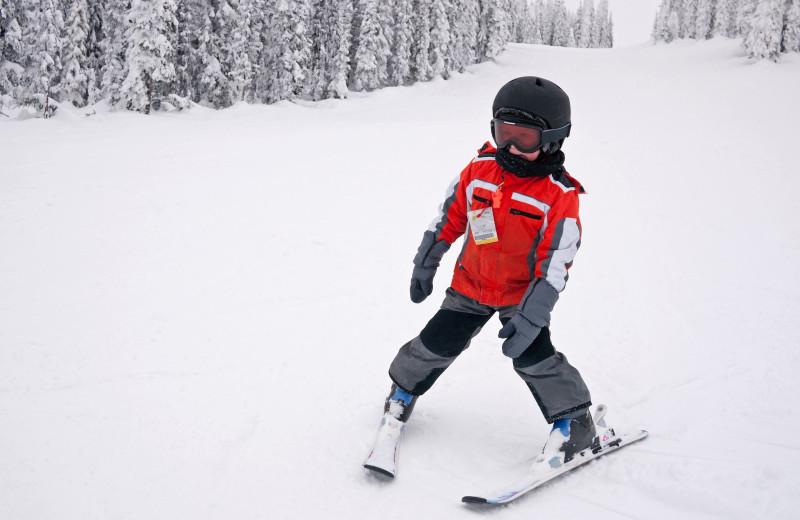 Skiing at Steamboat Vacation Rentals.