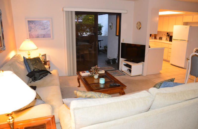 Rental living room at Padzu Vacation Homes - Palm Springs