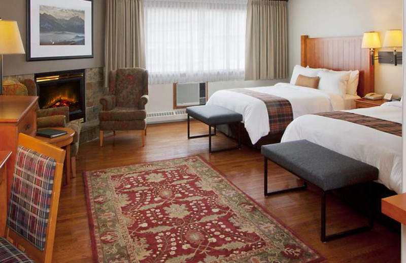 Guest room at Whistlers Inn.