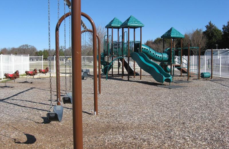 Playground at Mill Creek Ranch Resort.