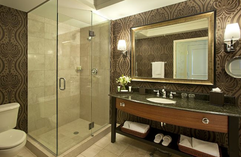 Guest Bathroom at JW Marriott Denver