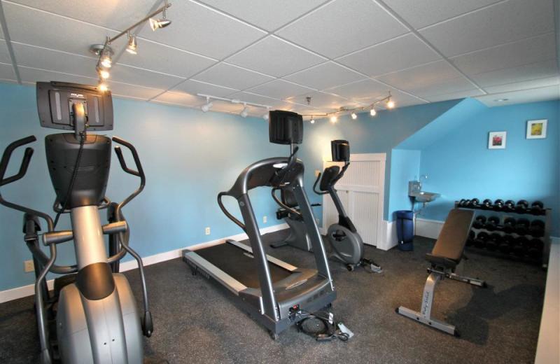 Gym at Fisherman's Wharf Inn