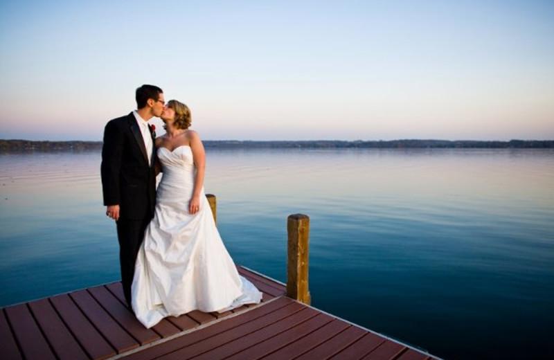 Wedding at Heidel House Resort.