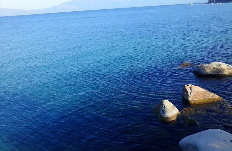 Lake view at Meeks Bay Resort.