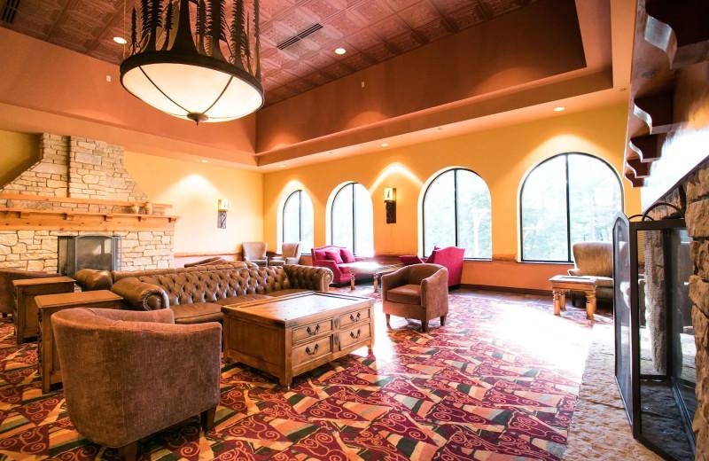 Lobby at Chula Vista Resort.