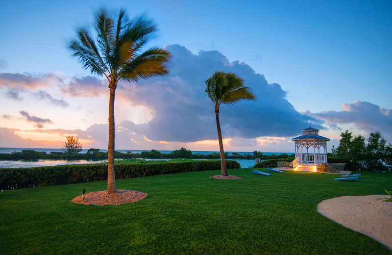 Grounds at Hawks Cay Resort.