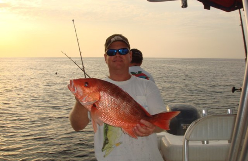 Catching some fish at Newman-Dailey Resort Properties, Inc.